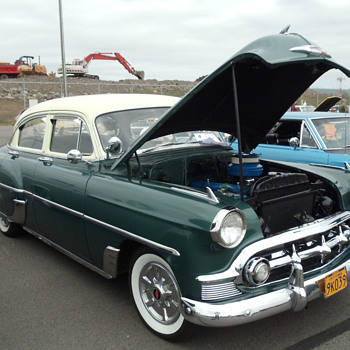 1954 Chevrolet Sedan powered by a Blume Flame 6 - Classic Cars