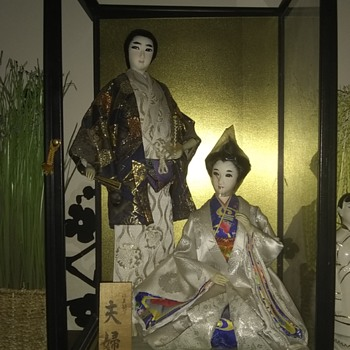 Asian or Japanese Doll collections  - Asian