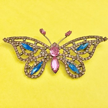 Large butterfly brooch - Animals