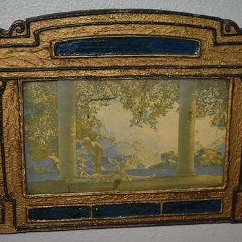 Maxfield Parrish - Daybreak - in a very interesting frame. - Fine Art