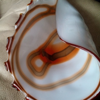 Murano Glass shell dish ???? - Art Glass