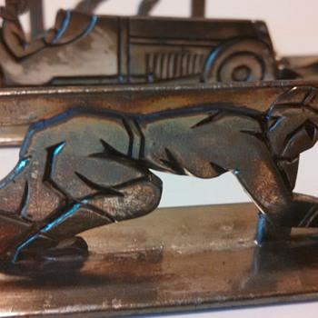 Sportsman French Art Deco Knife Rests--Part 2 - Art Deco
