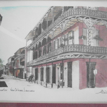 The French Quarter - Posters and Prints