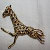Sphinx Giraffe brooch
