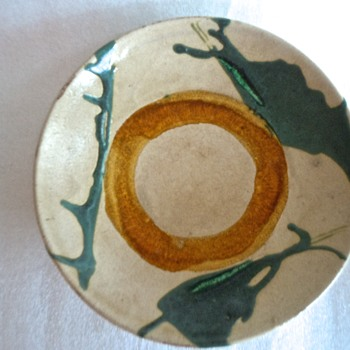 Japanese? Chinese? Large Plate - Pottery