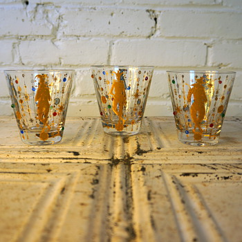 More Culver Mardi Gras - Glassware