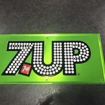 7Up sign 1976  - Signs