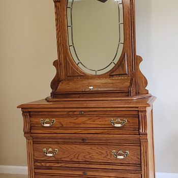 Dixie Dresser and Mirror - Furniture