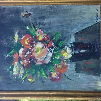 "Fritz B Talbot Art "" Still Life Flowers""  - Fine Art"