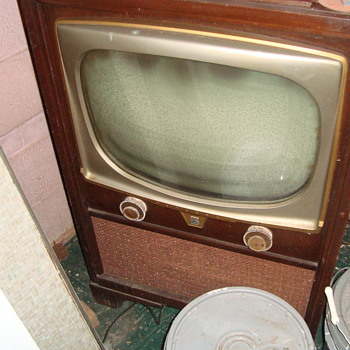 Motorola TV from 1950's