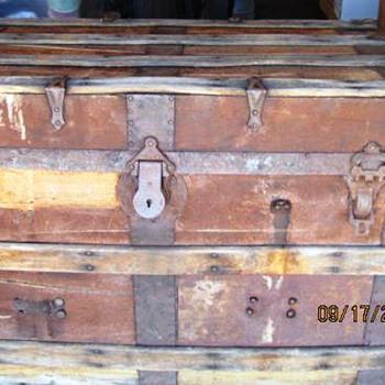 Antique Trunk #2 Continued - Furniture