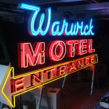 Some neon signs I restored and have. - Signs