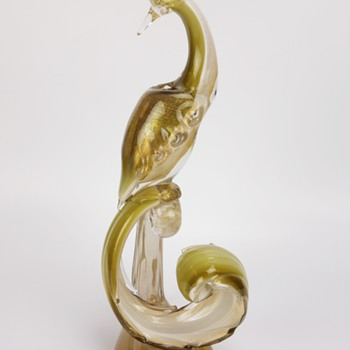 Alfredo Barbini Murano Bird Of Paradise - Art Glass