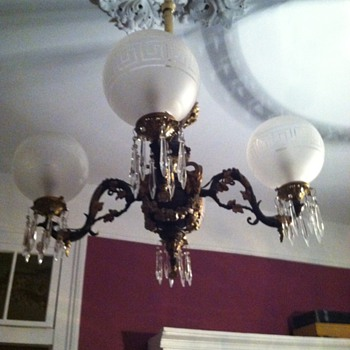 dining room gas fixture