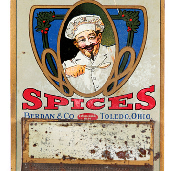 Chef Spices Berdan & Co. Toledo Match Holder - Advertising