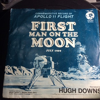 John ,Frank, Marilyn and the man on the moon  - Records