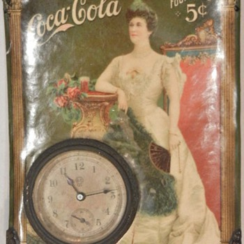 Lillian Nordica Coca-Cola Clock - Coca-Cola