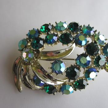 BSK Brooch - Costume Jewelry