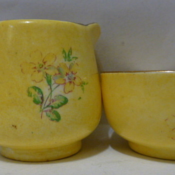 James Kent LTD. children's sugar and creamer set - Pottery