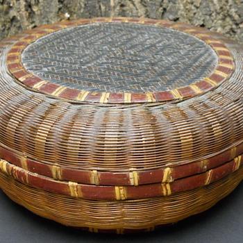 Native American Basket ?? - Furniture