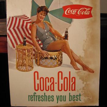 Coca-Cola Cardboard Signs - Coca-Cola