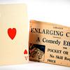 Lohrey's Enlarging Card trick