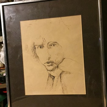 Bob Dylan  sketch  - Fine Art