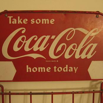 1950's Coca-Cola Six-pack Display Rack - Coca-Cola