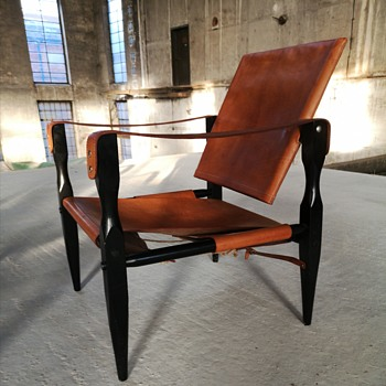 Vintage safari chair possibly by carl auböck?  - Furniture