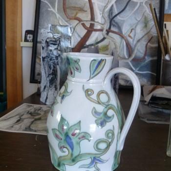 Buchan pottery jug - Pottery