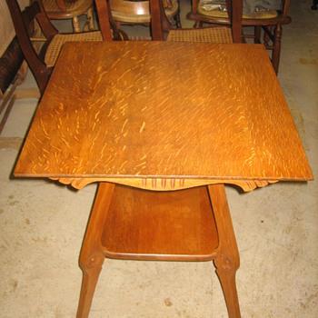 1/4 Sawn Oak Table - Furniture
