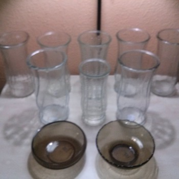 brody finds - Glassware