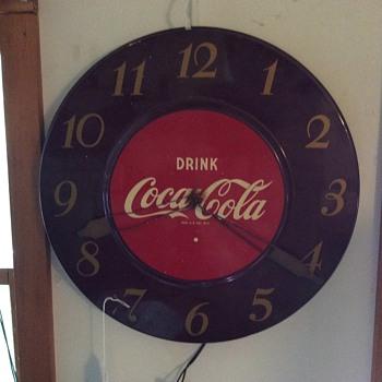 My clock, works but needs hands. HELP! - Coca-Cola