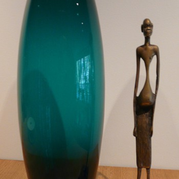 Danish Holmegaard Greenland Vase PER LÜTKEN - Art Glass