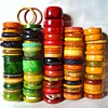 My bakelite bangle collection