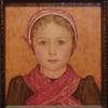 """Amsterdam Girl"" small watercolor"