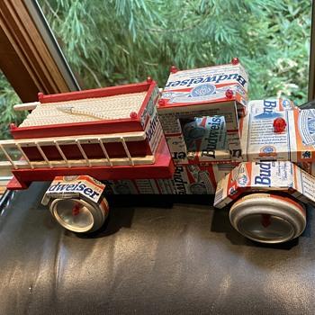 Budweiser fire truck  - Breweriana