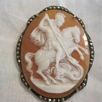 Cameo St. George and the Dragon - Fine Jewelry