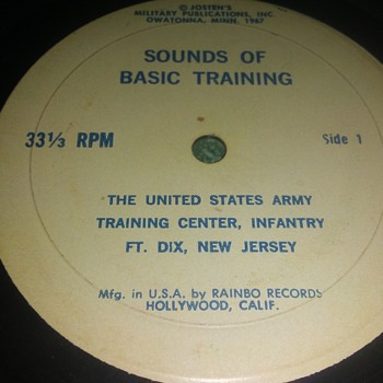 Recording Ft. Dix, New Jersey.... - Military and Wartime