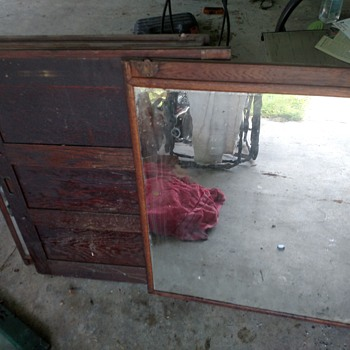 Beveled mirrors and cabinet doors? - Furniture