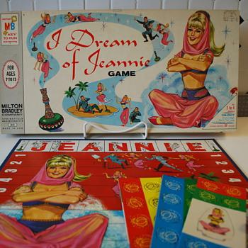 I Dream of Jeannie Board Game by Milton Bradley