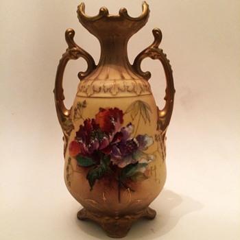 TURN Vienna Erich Wahliss Vase - Art Nouveau