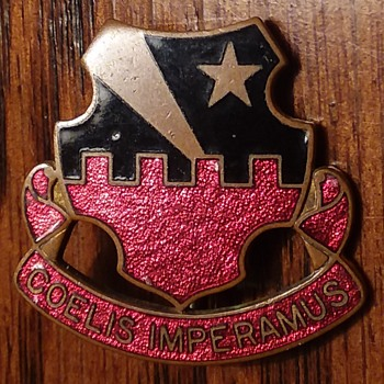 60th Air Defense Artillery WW2 DUI - Military and Wartime