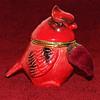 red cardinal sewing etui