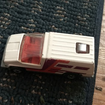 1978 rare matchbox van - Model Cars