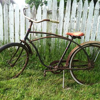 Help me! Unknown maker.. Reclaimed vintage bicycle.