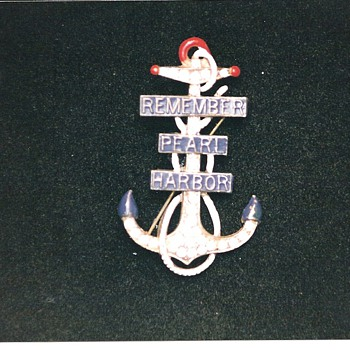 More Remember Pearl Harbor Pins and Broohes - Military and Wartime
