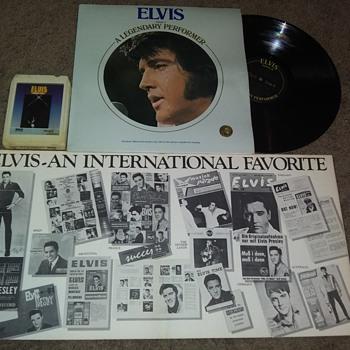 ELVIS A. PRESLEY - Music Memorabilia