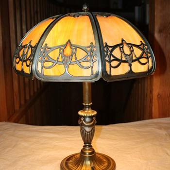 Bradley & Hubbard American Table Lamp (c.1910)