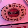 AMOCO Anti-Freeze porcelain thermometer...1940's